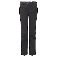 Craghoppers - Black airedale trousers - short leg