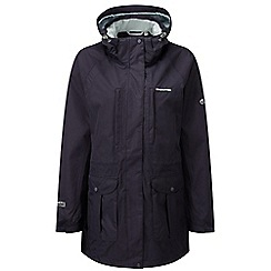 Craghoppers - Dark purple madigan long jacket
