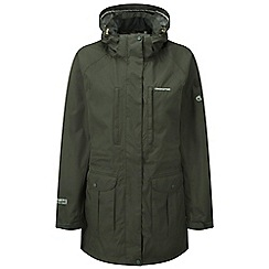 Craghoppers - Mid khaki madigan long jacket