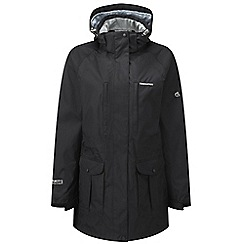 Craghoppers - Black madigan long jacket