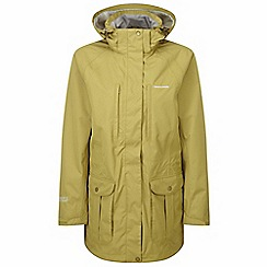 Craghoppers - Light olive madigan ii long jacket