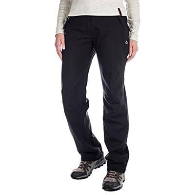 Craghoppers Black aysgarth waterproof trousers - regular leg - . -