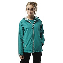 Craghoppers - Bright turquoise Ruhi lightweight waterproof jacket