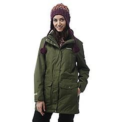 Craghoppers - Parka green Madigan iii long waterproof jacket