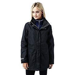 Craghoppers - Black Madigan long waterproof jacket