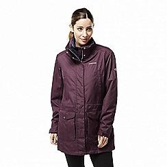 Craghoppers - Red 'Madigan' long waterproof jacket