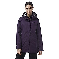 Craghoppers - Dark plum Madigan classic waterproof jacket