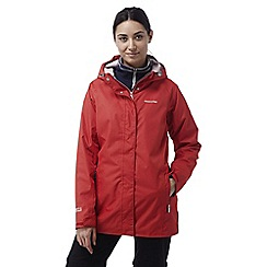 Craghoppers - Fiesta red Madigan classic waterproof jacket