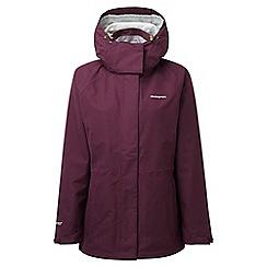 Craghoppers - Dark rioja red Marissa gore-tex waterproof jacket