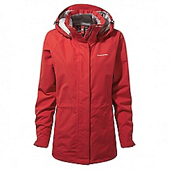 Craghoppers - Fiesta red Marissa gore-tex interactive jacket