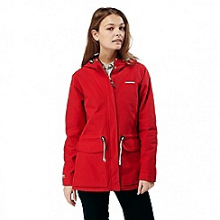 Craghoppers - Fiesta red wren waterproof jacket
