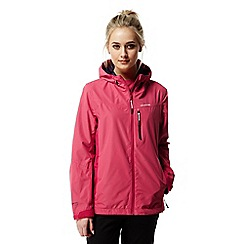 Craghoppers - Electric pink Discovery adventures waterproof jacket