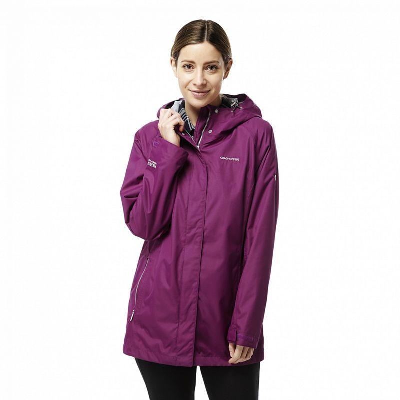 Craghoppers Pink Madigan classic waterproof jacket