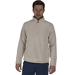 Craghoppers - Ecru wainton half-zip summer fleece
