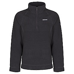 Craghoppers - Black pepper wainton half-zip summer fleece
