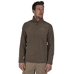 Craghoppers - Dusky green wainton half-zip summer fleece