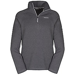 Craghoppers - Quarry grey caleb half-zip fleece