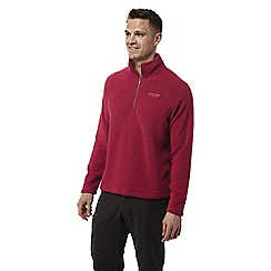 Craghoppers - Maple red Sifton insulating half zip fleece