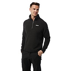 Craghoppers - Black pepper Sifton insulating half zip fleece