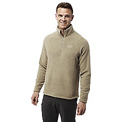Craghoppers - Camel Sifton insulating half zip fleece