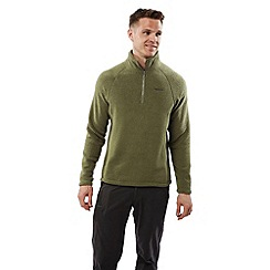 Craghoppers - Dark moss Sifton insulating half zip fleece