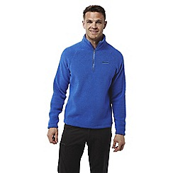 Craghoppers - Sport blue Sifton insulating half zip fleece