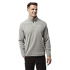 Craghoppers - Quarry grey Chesterfield half zip fleece