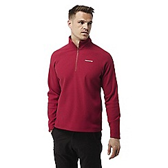 Craghoppers - Maple red Chesterfield half zip fleece