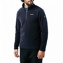 Craghoppers - Dark navy Corey iii half-zip fleece