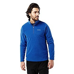 Craghoppers - Deep china blue Corey iii half-zip fleece