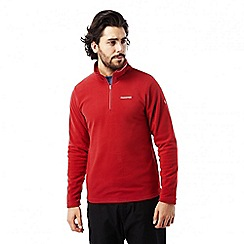 Craghoppers - Maple red Corey half zip fleece