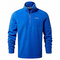 Craghoppers - Sport blue Corey half zip fleece