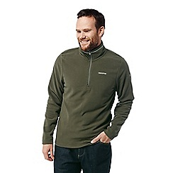 Craghoppers - Green 'Corey' half zip fleece