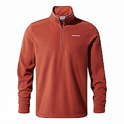 Craghoppers - Red 'Corey' half zip fleece