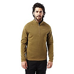 Craghoppers - Dirty olive Walton half zip fleece