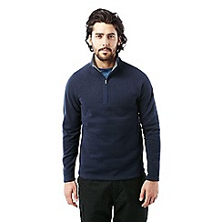 Craghoppers - Dark navy Walton half zip fleece