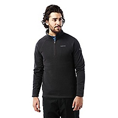 Craghoppers - Black pepper Walton half zip fleece
