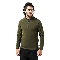 Craghoppers - Dark moss Walton half zip fleece