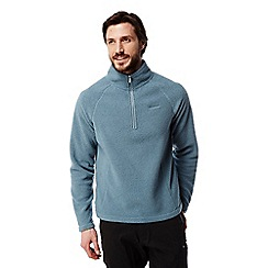 Craghoppers - Smoke blue Barston lightweight half zip fleece