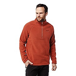 Craghoppers - Red 'Barston' half zip fleece