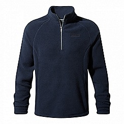 Craghoppers - Blue 'Barston' half zip fleece