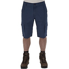 Craghoppers - Faded indigo samson cargo shorts