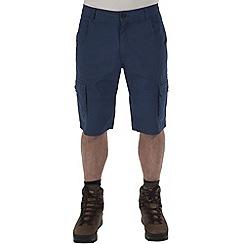 Craghoppers - Faded indigo samson cargo shorts