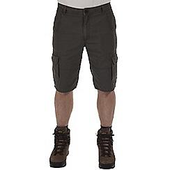 Craghoppers - Dark khaki samson cargo shorts
