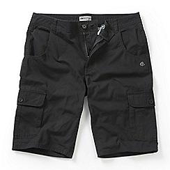 Craghoppers - Black pepper samson cargo shorts