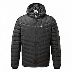 Craghoppers - Black 'Brompton' natural down insulating jacket