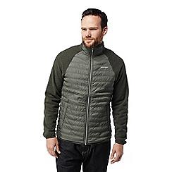 Craghoppers - Green 'Sander' hybrid jacket