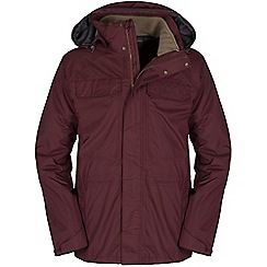 Craghoppers - Oxblood/taupe bateson 3in1 jacket