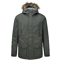 Craghoppers - Dark khaki Raith waterproof insulating jacket