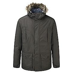 Craghoppers - Espresso brown Raith waterproof insulating jacket